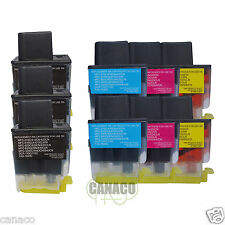 9 pk LC41 High Capacity ink cartridge LC-41 LC41 LC 41 fit Brother printer LC41