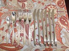 11-Pc Lot 18/10 Stainless Flatware, ARTHUR PRICE, Glossy, Pointy Tip