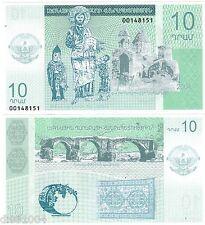 NAGORNO KARABAKH Armenie Billet 10 DRAHMS 2004 NEUF UNC