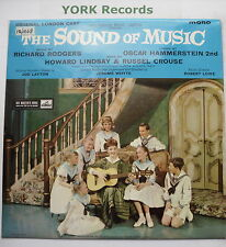 SOUND OF MUSIC - London Cast Recording - Ex LP Record His Masters Voice CLP 1453