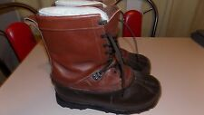 Sorel Kaufman Cabela's made in Canada men's winter snow boots 11 mint condition