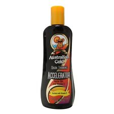 FOUR Australian Gold Dark Tanning Accelerator Tanning Lotion Indoor/Outdoor Tan