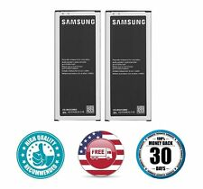 Original 3220mAh Battery for Samsung Galaxy Note 4 N910 N910A N9100 - Pack of 2
