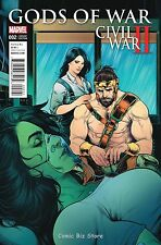 CIVIL WAR II  GODS OF WAR #2 (2016) 1ST PRINTING TORQUE VARIANT COVER