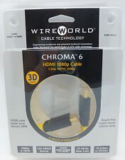 WireWorld Chroma 6 HDMI 0.5 meter HDMI Cable Wire World
