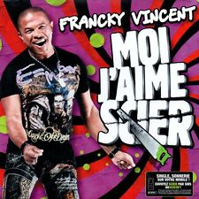 ★☆★ CD Single Francky VINCENT - VILLAGE PEOPLE Moi j'aime scier 5-track CARD ★☆★