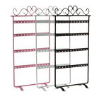 48 Holes Metal Earrings Display Show Jewelry Rack Stand Organizer Holder Lot FSS