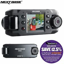 "NEXTBASE Duo Car Dash dashboard Videocamera 2 "" 720P HD DVR Cam"