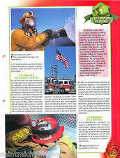 Firefighting apparatus Sapeur Pompier California Santa Monica FICHE FIREFIGHTER