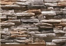 Cultured Manufactured Stone Veneer Wall Siding - Custom Ledgestone - Bermuda