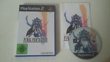 FINAL FANTASY XII (12) - SONY PLAYSTATION 2 PS2 - COMPLET GERMAN DEUTSCH VERSION