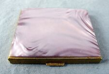 Vintage Pink Shadowed Compact Makeup Box Made by Hair Fifth Avenue