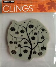"Hero Arts Clings ""Pumpkin Tree"" Rubber Stamp *New*"
