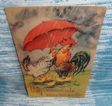 Une Promenade Mouvementee , Antiquarian French Children's Book