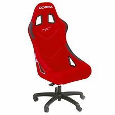 Cobra Monaco Sport Racing Office Chair / Seat In Red