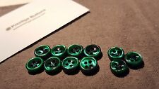 The Ultimate GREEN Mother of Pearl (MOP) Shirt Button Set!