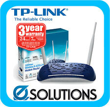 TP-LINK TD-W8960N Wireless N 300Mbps ADSL2+ Modem Router Brand New Aussie Stock