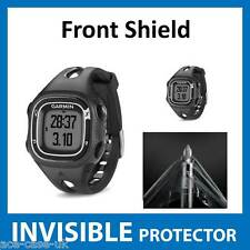 Garmin Forerunner 10 INVISIBLE FRONT Screen Protector Shield - Military Grade