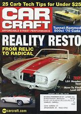 Car Craft Magazine January 2005 LS1 Header Test / How To Find Lost HP
