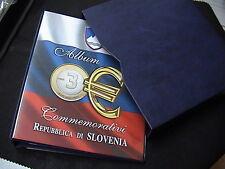 CARTELLA RACCOGLITORE ABAFIL 3 EURO commemorativi SLOVENIA senza aggiornamenti