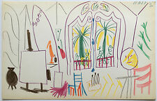 After PABLO PICASSO 1960 Offset Lithograph Sketch Ltd Ed of 1000 JKLFA.com