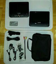 """Sylvania SDVD9957 9"""" Dual Screen Portable DVD Player (Black) - Please Read Notes"""