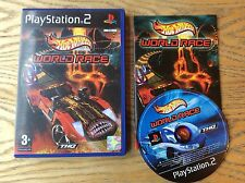 Hot Wheels, World Race Ps2 Game! Complete! Look At My Other Games!