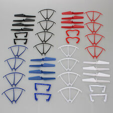 Blades+Protection Frame+Landing Gear Accessories Pack For Syma Drone X5C X5C-1