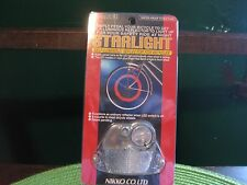Starlight Bicycle Water Resistant Wheel Reflector Self Charging Light NIB