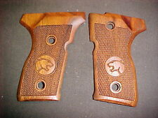 Beretta 8045 Cougar Fine Walnut Pistol Grips COUGAR Logos MINI-SIZE-ONLY NEW!