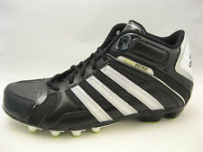 adidas SM Scorch Destroy Field Turf Football Cleats 12.5 D Black White G24597