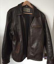 Original T.P. Saddle Blanket & Trasing co. Leather jacket size Large