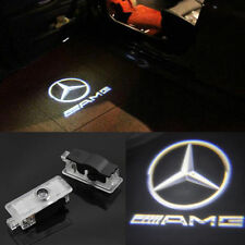 2pcs Benz AMG Logo LED laser Projector door light For Mercedes-Benz CLS CLA C207
