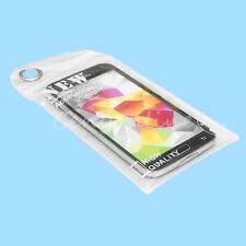 White Waterproof Bag Case Cover Pouch For iPhone 5S Mobile Phone Swimming Beach