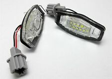 LED number plate license panneau module lampe fit honda