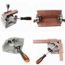 90 Degree Corner Right Angle Clamp Aluminum Alloy Woodworking Gussets Vise Tools
