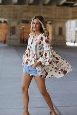 Free People Just The Two Of Us Tunic/Dress. NWT.  Small. Ivory. Bohemian Beauty