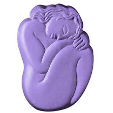 Sleeping Woman Soap Mold Melt Pour Cold Process Milky Way Clear PVC Instructions