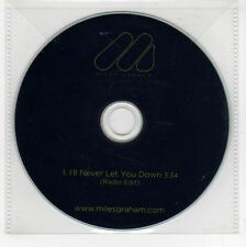 (GI361) Miles Graham, I'll Never Let You Down - DJ CD