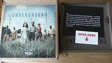 WGN TV SHOW UNDERGROUND. You get DVD's with the  1st 4 episodes