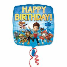 Paw Patrol Happy Birthday Standard Foil Balloons Birthday Decoration Supplies