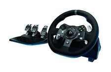 Logitech Driving Force G920 Racing Wheel, Force Feedback Steering Wheel