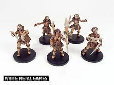 Kingdom Death Monster Lion Survivors x5 Miniature Painting Commission Services