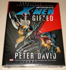 ASTONISHING X-MEN : GIFTED Full-Length Hardback Novel PETER DAVID    NM/Sealed