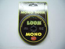 WFT Mono LOOM 200m, 7,10 kg, 0,31mm Selbstleuchtende Angelschnur