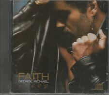 GEORGE MICHAEL Faith cd original USA pressing 1987 11 tracks I want your sex