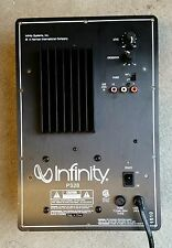 Infinity PS28 Powered Subwoofer Amplifier Plate Repair Service