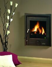 New Heritage Pollmore 5Kw Inset Room Heater Wood Burning Stove Matt Black
