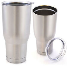 30 oz Stainless Steel Rambler Tumbler - Yeti & Rtic Quality Without the Price