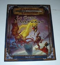 Le COEUR D'ASHARDALON D&D Niveau 10 dragons French français JDR RPG TSR